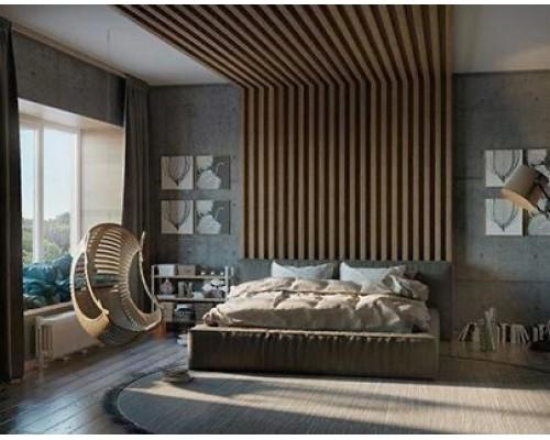 Рейки для декора стен и интерьера