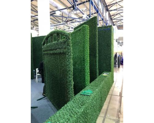 Ограды из искусственной травы