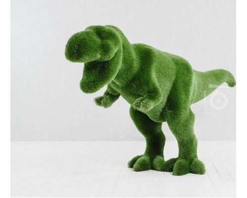 Фигура из искусственной травы - динозавр