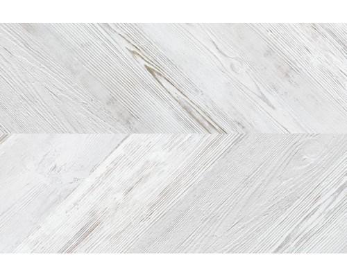 Напольное покрытие изпробки Corkstyle Chevron White