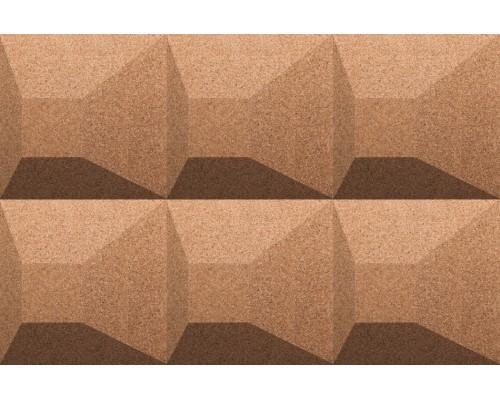 Объемные пробковые плитки 3D формы Aztec
