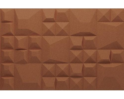 Объемные пробковые плитки 3D формы комплект Douro Terracotta