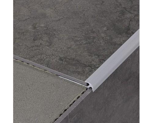 Профиль Profilpas №111 для ступеней на лестницах с LVT покрытиями