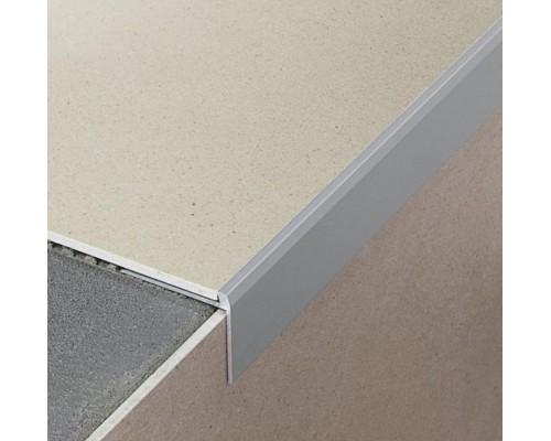 Профиль Profilpas №75 для ступеней на лестницах с LVT-плиткой