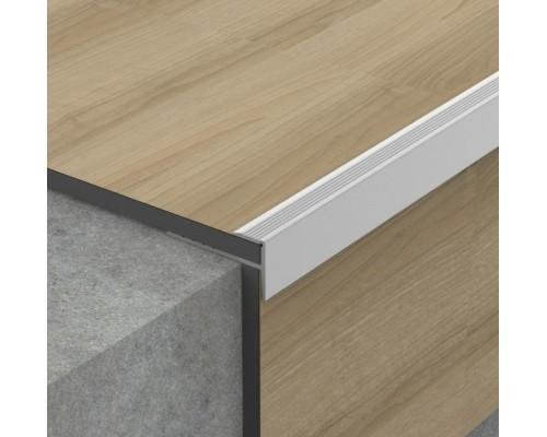 Профиль Profilpas №705 для ступеней на лестницах с LVT покрытиями