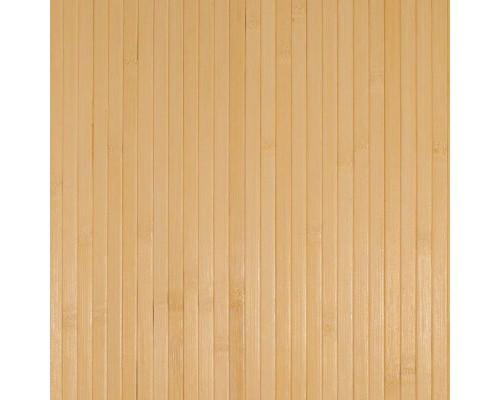 Бамбуковые обои светлые 17мм