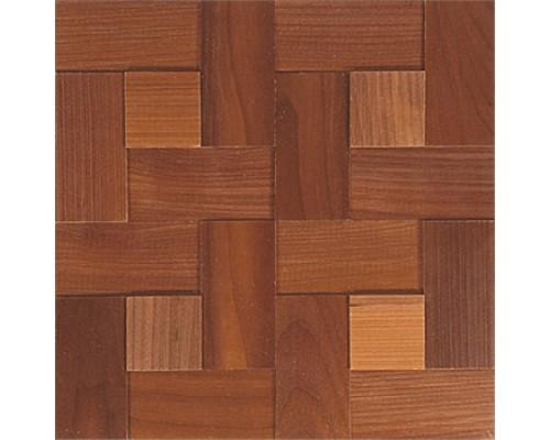 Мозаика деревянная 3D серия «комбо» Ясень thermo