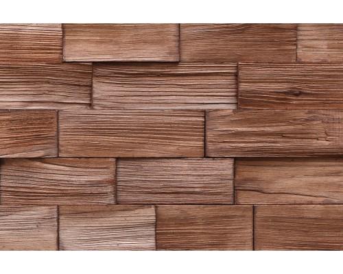 Мозаика деревянная 3D серия «прямоугольник» Сосна