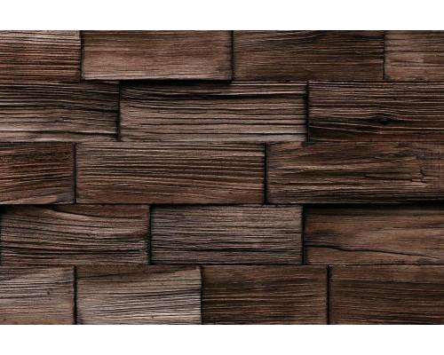 Мозаика деревянная 3D серия «прямоугольник» Сосна 2