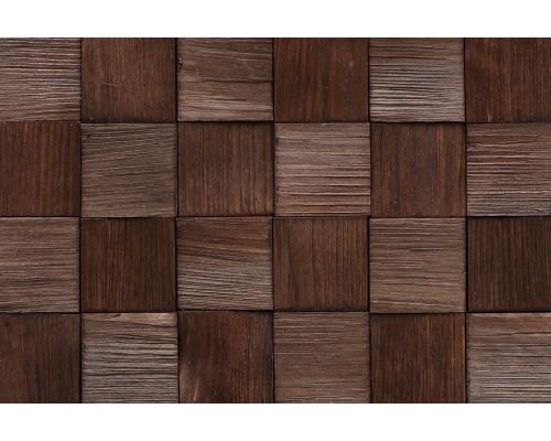 Мозаика деревянная 3D серия «квадрат mini» Сосна 2