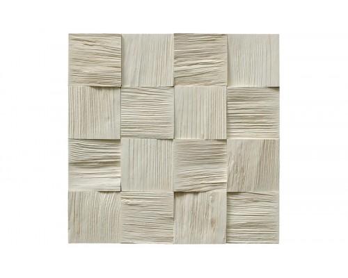 Мозаика деревянная 3D серия «квадрат» Сосна 3