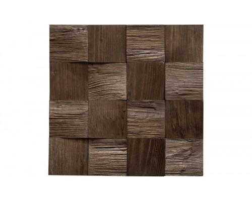 Мозаика деревянная 3D серия «квадрат» Сосна 2