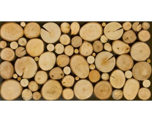 Мозаика деревянная 3D серия «поперечный срез» №3