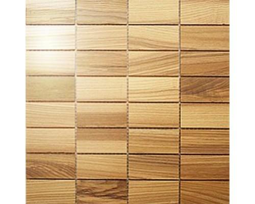 Мозаика деревянная серия «прямоугольник» Ясень