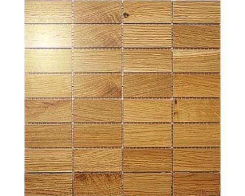 Мозаика деревянная серия «прямоугольник» Дуб
