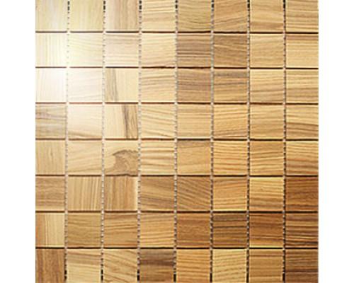 Мозаика деревянная серия «квадрат» Ясень