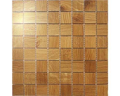 Мозаика деревянная серия «квадрат» Дуб
