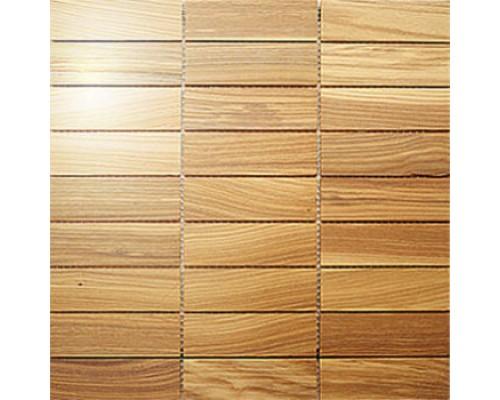 Мозаика деревянная серия «прямоугольник 2» Ясень