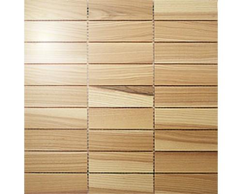 Мозаика деревянная серия «прямоугольник 2» Ясень select