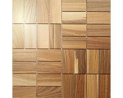 Мозаика деревянная серия «комбо1» Ясень