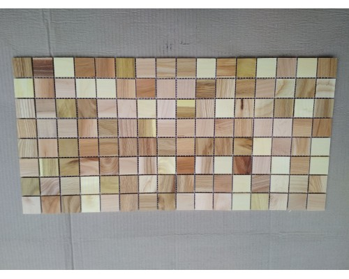 Мозаика деревянная серия «квадрат» Mix