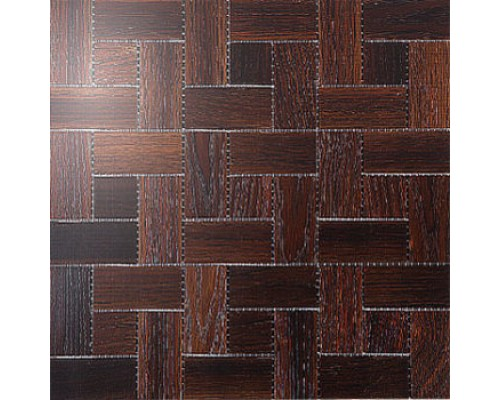 Мозаика деревянная серия «комбо 2» Дуб thermo