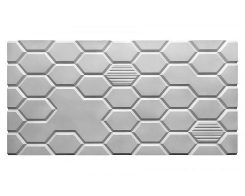 Мозаичные панели 3D из МДФ с фрезеровкой №3
