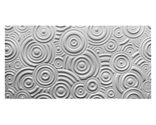 Мозаичные панели 3D из МДФ с фрезеровкой №4