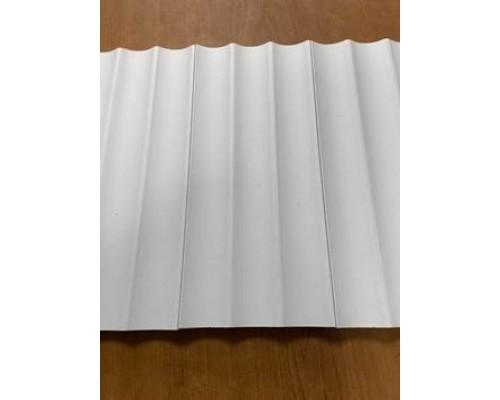 Стеновые панели 3D из МДФ в пленке Волна белая