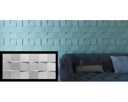 Гипсовая плитка серия 3D Squares