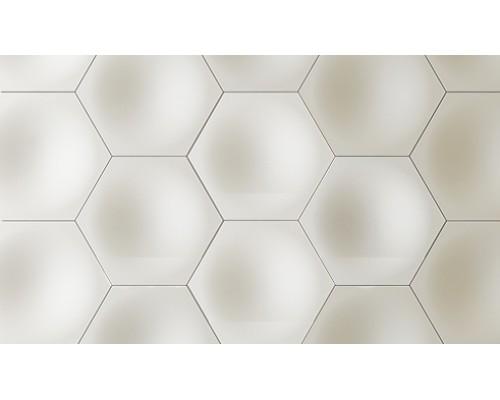 Гипсовая плитка серия 3D Сота G3