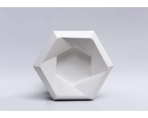 Гипсовая плитка 3D Сота №3