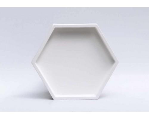 Гипсовая плитка 3D Сота №4