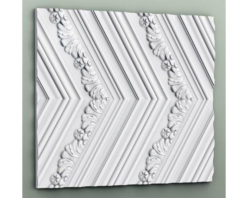 Настенная полиуретановая 3D панель Orac w130