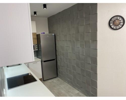 Стеновые панели 3D из МДФ в пленке куб №1