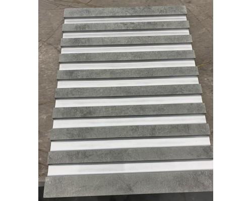 Стеновые панели 3D из МДФ в пленке лесенка №1
