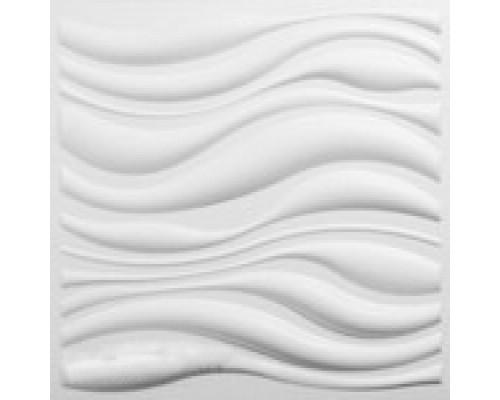 Гипсовая плитка серия 3D Waves