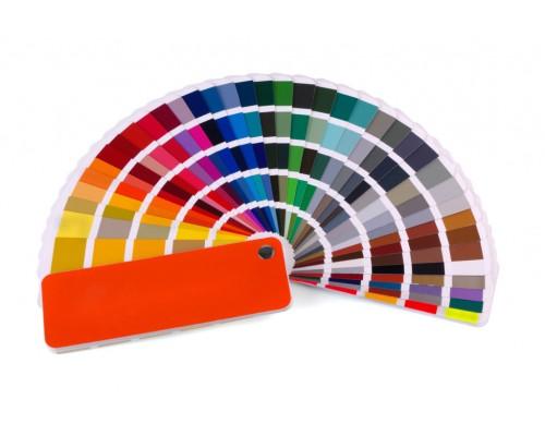 Выкраска плинтуса согласно RAL