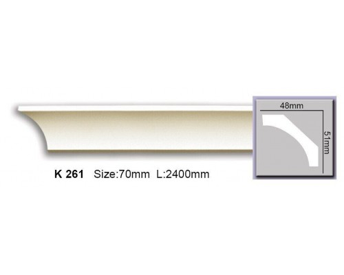 Карниз Elite гладкий K261 гибкий
