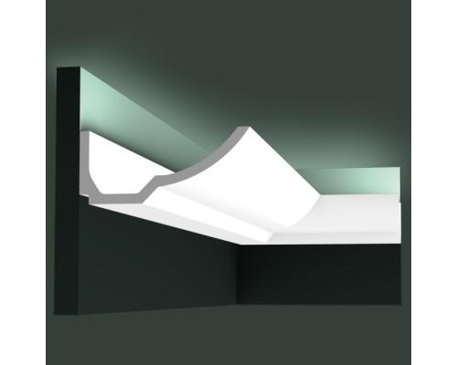 Полиуретановые плинтуса Orac Decor для скрытой подстветки C351