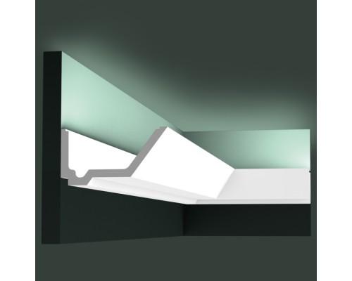 Полиуретановые плинтуса Orac Decor для скрытой подстветки C358