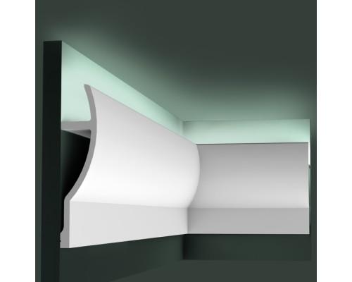 Полиуретановые плинтуса Orac Decor для скрытой подстветки C372