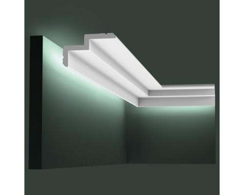 Полиуретановые плинтуса Orac Decor для скрытой подстветки C390