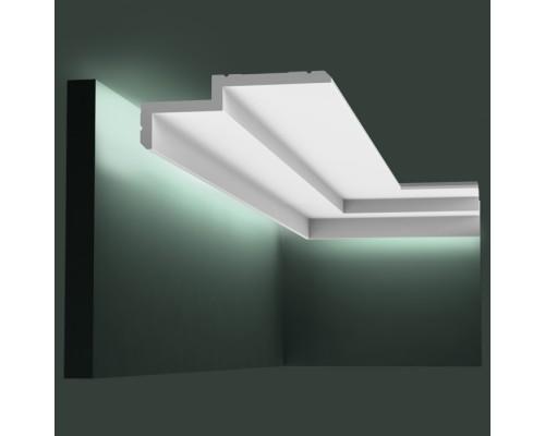 Полиуретановые плинтуса Orac Decor для скрытой подстветки C391