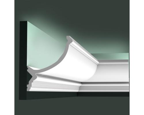 Полиуретановые плинтуса Orac Decor для скрытой подстветки C900