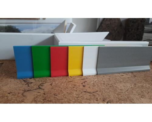 Плинтус Profilpas PVC 8600 70мм гибкий
