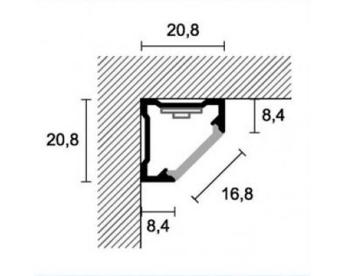 Профиль угловой Profilpas CLA