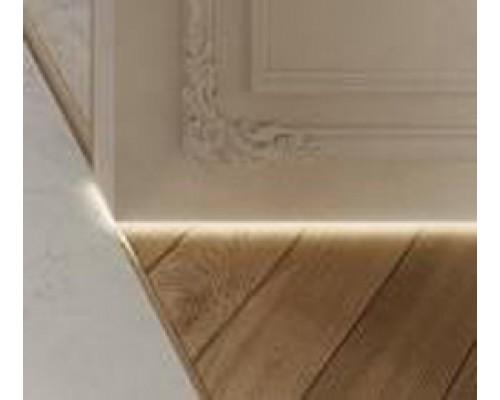 Плинтус скрытого монтажа для создания теневого зазора Profilpas 30мм для LED-подсветки (теневая подстветка)