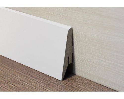 Плинтус Elite 52 мм белый
