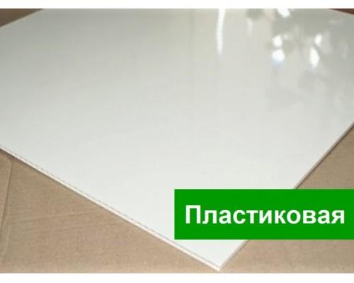Плита потолочная пластиковая для Армстронг глянцевая